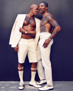 Black gay couples: jamal and octavius terry-sims