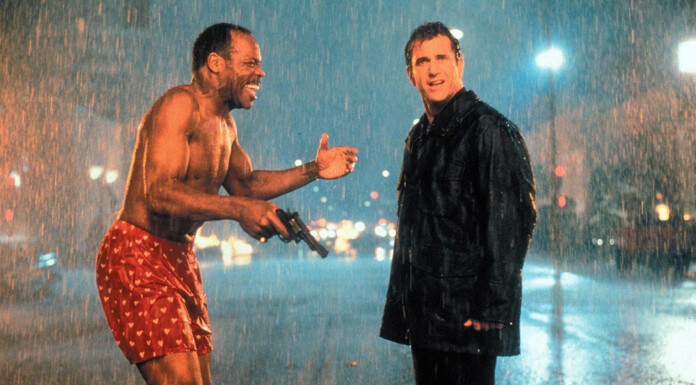 Male Bonding with Danny Glover and Mel Gibson in Lethal Weapon