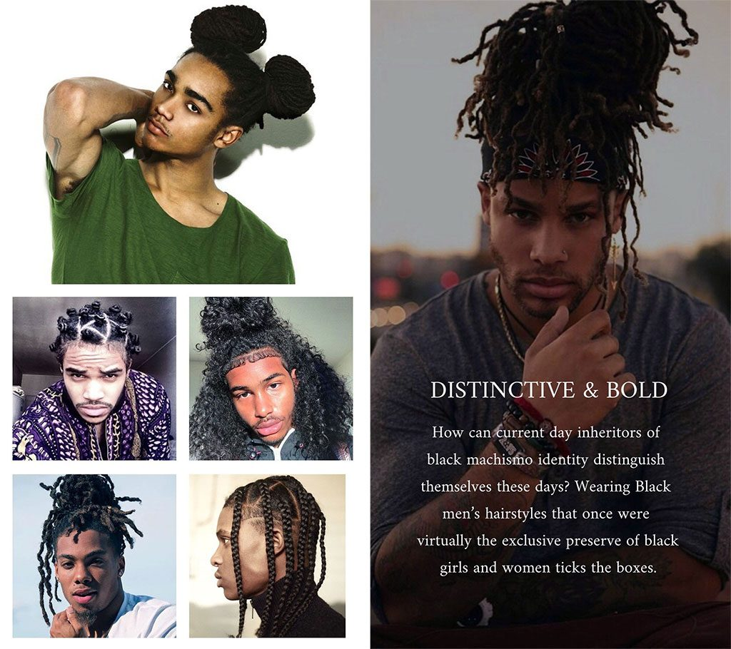 Distinctive and bold: black men's hairstyles