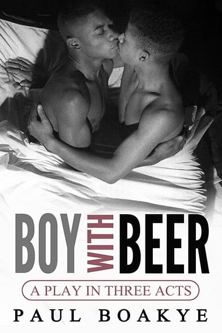 Boy with beer by paul boakye