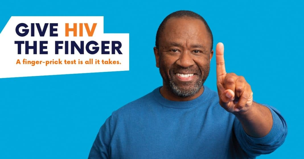 National HIV Testing Week campaign featuring actor Lucian Msamati.