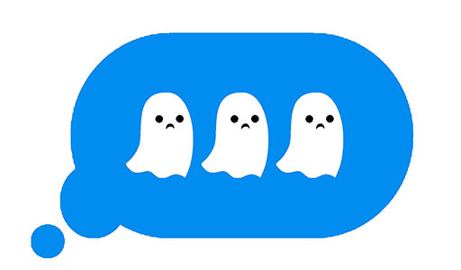 Love the one you're with: ghosting