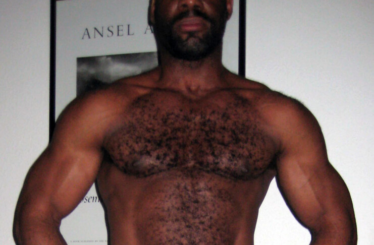 black muscle daddy